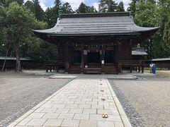 上杉神社にお参り。