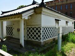 大坂城 金蔵。 本丸唯一の現存建築。