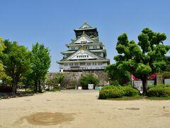 大坂城 本丸。 以前は、本丸に土産物売り場兼茶屋があったが、諸事情により跡形も無かった。
