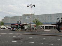 新潟駅到着。