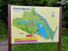 お隣の茂林寺沼の周りも歩いてみます。