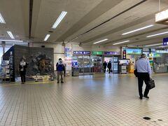 今回は日帰りで荷物も無いのでサクッとランドサイドへ。 ここは石川県ですが、ターミナルの随所に福井アピールが。