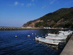 民宿は固まって数軒あるけど、それ以外は何もない静かな漁村の神子。 常神半島の先にも行ってみたけど、きれいな海があるだけの風景は同じでした。