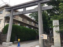 下北沢方面に歩いていき、北沢八幡神社へ。