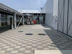 熊本空港着 絶賛工事中