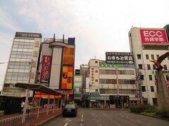 名古屋から1時間37分で大和八木駅に到着し改札口を出ます。 奈良県内で7年以上勤務していた事もあり大和八木駅は思い出深い駅です。 35年ぶりに大和八木駅界隈を散策。 大和八木駅周辺はすっかり様変わりしており時代の変遷を感じました。