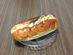 明太マヨパスタは、明太子スパゲッティがぎっしり。 しっかり明太子のお味がして、とても美味しい。