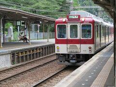 次の駅の榛原行きの準急が来たので乗車。(車番2440)