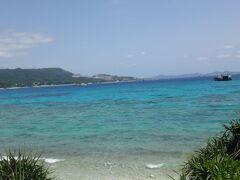 宿のある瀬底島に移動。 宿の方から聞いたビーチに行ってみた。