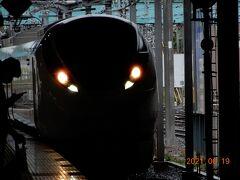 息子の住む仙台へは、何度も往復していますが、新幹線利用か自家用車ばかりでした。 今回は、常磐線が全通し、柏から乗り換え無しで仙台へ行ける「ひたち3号」を利用することにしました。 列車の旅好きなんです!  柏駅へ進入する「日立3号」仙台行