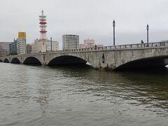 萬代橋 新潟旅行最終日。 今日は新潟市街をぶらぶら散策する予定。