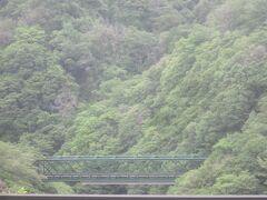 信号場からは早川鉄橋が見えます