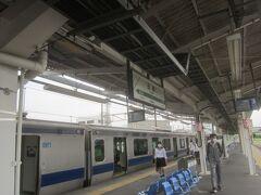 13時58分 ようやく石岡駅に辿り着いた もちろん電車の中では寝ないように気を付けましたよ  本当なら12時30分に土浦を出て、12時53分に石岡に到着する予定だったのに1時間遅れとなってしまった~
