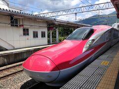 田沢湖駅からこまちに乗って秋田へ。