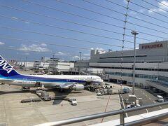 とりあえず展望デッキとカードラウンジのスタンプラリーは福岡空港でのルーティンですね。