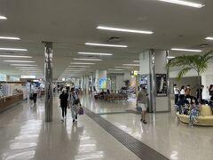 無事に那覇空港に到着