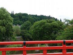 赤い中橋。