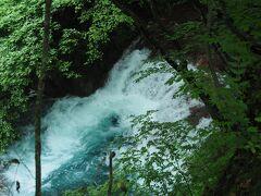 大泉の滝も歩道から見えてたんですね。