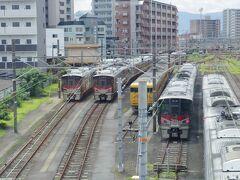 この駅は九州への鈍行旅では度々途中下車しています。