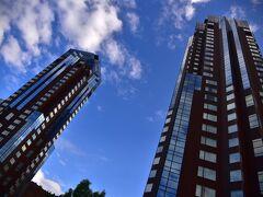 宿泊は「星野リゾートリゾナーレトマム」に! サウスとノースのを持つツインタワーホテルです。