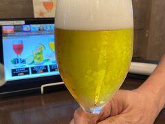 色々な種類のビールを頂けます。。