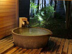 貸切露天風呂の一つ