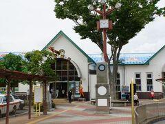 石巻駅に到着~  本当は石巻でも1泊したかったけど、 2泊3日の行程が 仕事で1泊になってしまった(´;ω;`)
