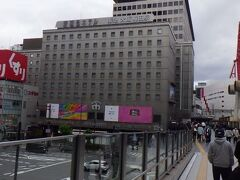 大阪梅田駅 2日目に高槻へ行くのに利用した。 百貨店が併設されているが、緊急事態宣言により休業していた。