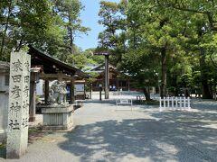 外宮から猿田彦神社まで歩いても40分くらい  しかし暑いので今回はタクシーで(1,000円程度)