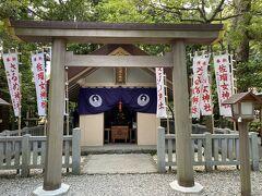 佐瑠女神社  御祭神はアメノウズメノミコト  芸能人が奉納された幟が沢山ありました