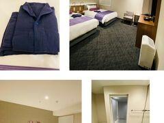京急 EXイン 羽田イノベーションシティ https://www.keikyu-exinn.co.jp/hotel/innovation-city/  出来たばっかりのホテルとあってなかなか綺麗で快適である。 ルームウェアもふかふかワッフル生地で着心地良かった♪  milkちゃんの仕事終わりは遅めなので、一足お先にチェックインしてのんびりしていた。