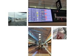 羽田空港 ターミナル2  国際線じゃないんだからやっぱこんなに早く着いてなくて良かったね(苦笑)がら~んとした空港内で待つ。誰もおらんよ!とmilkちゃんとLINEしてるという('ω')  ようやっと出発時刻になり行ってきまぁす♪ 久々の飛行機に興奮(笑)3時間で着いちゃうけど飛行機に乗れるだけでも幸せだ。あぁぁやっぱり早くロングフライトで海外行きたいよ。
