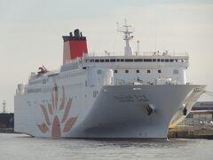 皆様、こんにちは。 フェリーさんふらわあ/大阪-志布志航路に就航する、さんふらわあさつまです。 平成30年5月15日、3代目さつまとして就航しました。  これから、この船で鹿児島(志布志)へ向かいます。