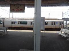 10:03 鹿児島に停車。  明治34年、開業。 鹿児島本線・日豊本線の終点駅です。 以前は鹿児島の中心駅でしたが、昭和46年以降、西鹿児島(現.鹿児島中央)駅へ中心駅の機能が移転しています。 令和2年2月15日、5代目駅舎が供用開始されました。