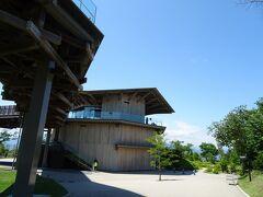 本日最初にやって来たのは、静岡市の日本平山頂に建つスタイリッシュな展望施設、「日本平夢テラス」。ここからは富士山を一望することが出来ます。