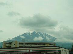 その後河口湖駅→富士山駅と経由しますが、道路が混んでてやや時間が掛かってしまいました。