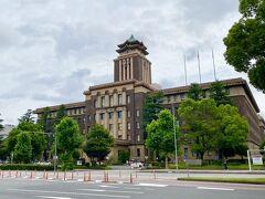 なんじゃ ? こりゃー ?  名古屋市役所本庁舎でした  立派やなー !  市長さんに似合わず !  とか言わないようにね