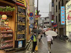 蒲田駅西口からホテルに向かいます。