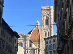 見えてきました 大聖堂と鐘楼
