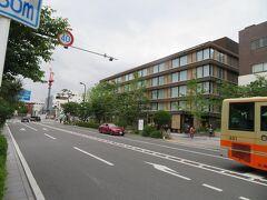 お泊りするホテルメトロポリタン鎌倉は若宮大路を渡ってすぐ。