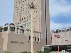 リーガロイヤルホテル小倉は小倉駅北口に在り、2階が駅直結となっています。