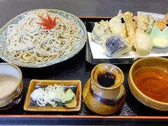 遅めの昼食は、塩原繁華街の「そば処 遊蕎」  鬼怒川を眺めながら美味しいお蕎麦が頂きました。