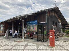 11<天竜二俣駅> ここが、シン・エヴァ第3村のモデル地「天竜二俣駅」。天浜線が人気アニメ・ドラマ「ゆるキャン△2」モデル地&ロケ地になったこともあり、近年観光客が増えた。