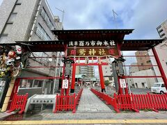 続いて訪れたのは、酉の市で有名な鷲神社です。 徒歩5~7分くらいあるいたかと思います。