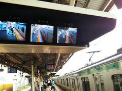 「戸塚駅」でJRに乗り換え☆ この日は大雨でダイヤが乱れてました。