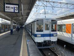 小川町で寄居行きにさらに乗り換え。