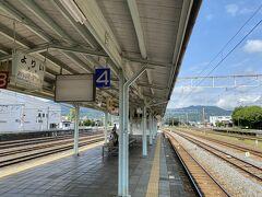 寄居に到着。 まだ時刻は8時35分。 ここで秩父鉄道に乗り換えです。