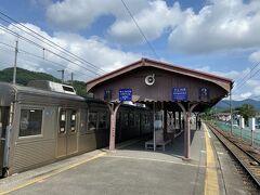 寄居から20分ほどで長瀞駅に到着。