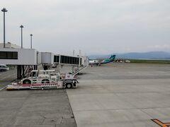 9:10 予定より少し早く長崎空港に到着。