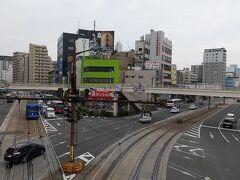 10:40 長崎駅前に到着。